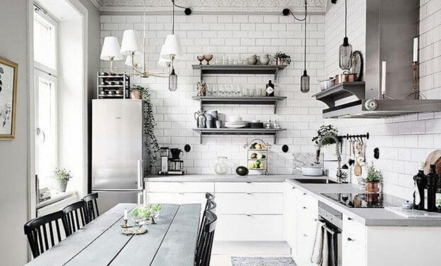 Дизайн маленькой кухни в 2021 году: 100+ реальных фото