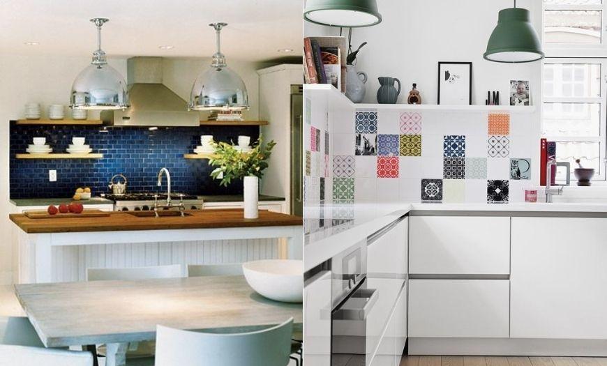 отделка стен маленькой кухни