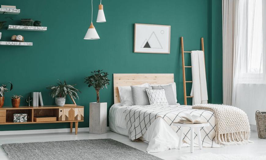 спальня в современном стиле минимализм