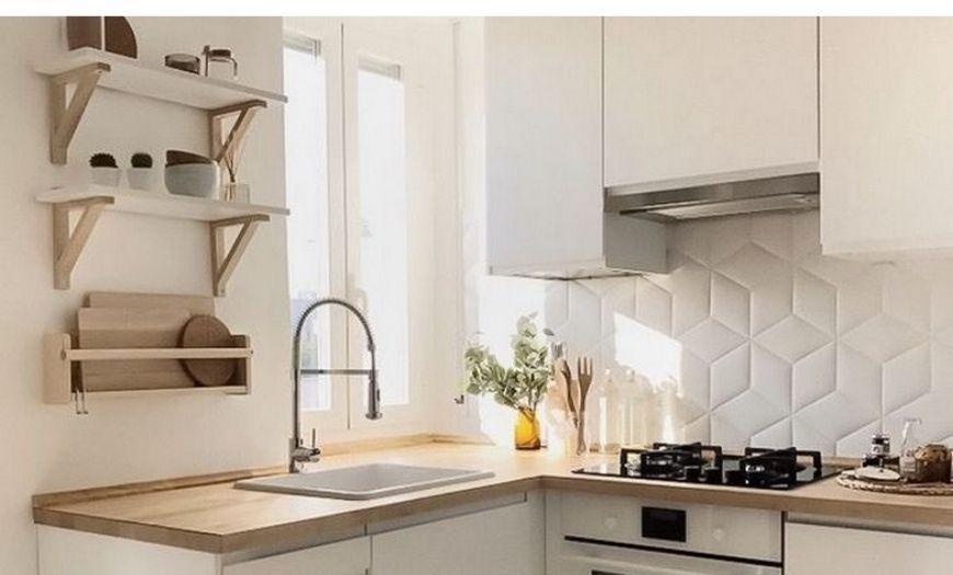 стены в маленькой кухне
