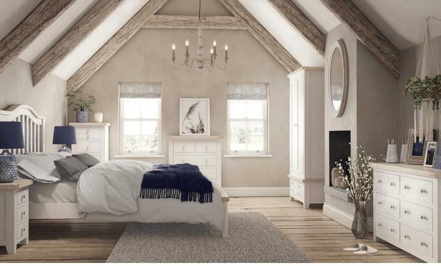 спальня в частном доме фото