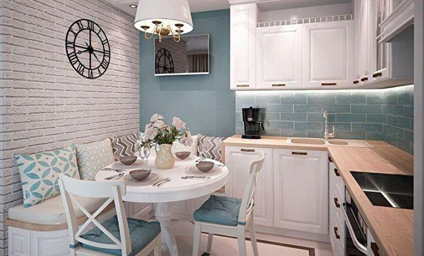 цвет стен в маленькой кухне