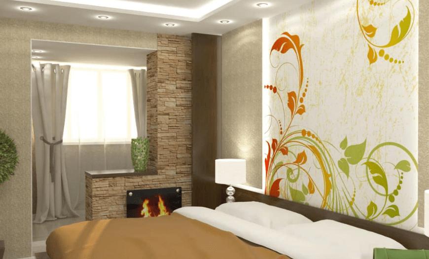 спальни дизайн современный
