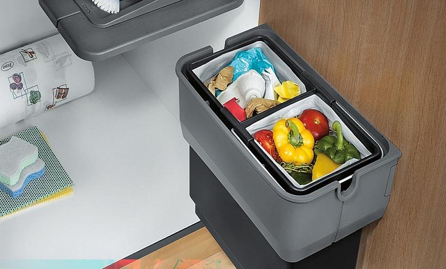 решения для сортировки мусора икеа