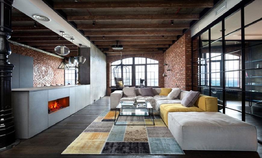 кухни в стиле Лофт в квартире