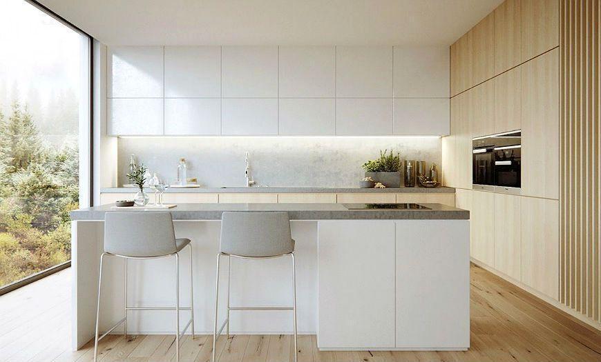 фасады для кухни белые