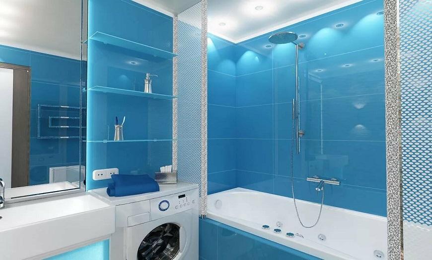 проект дизайн ванной комнаты