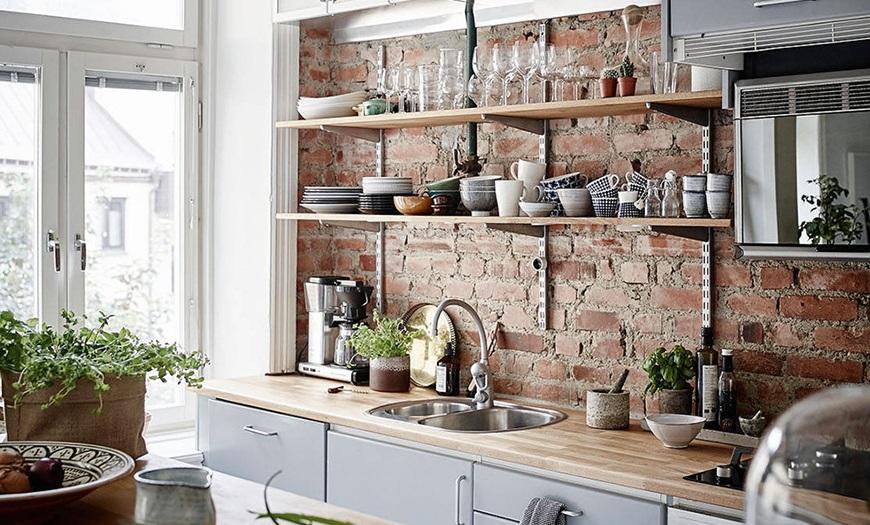 Фартук для белой кухни