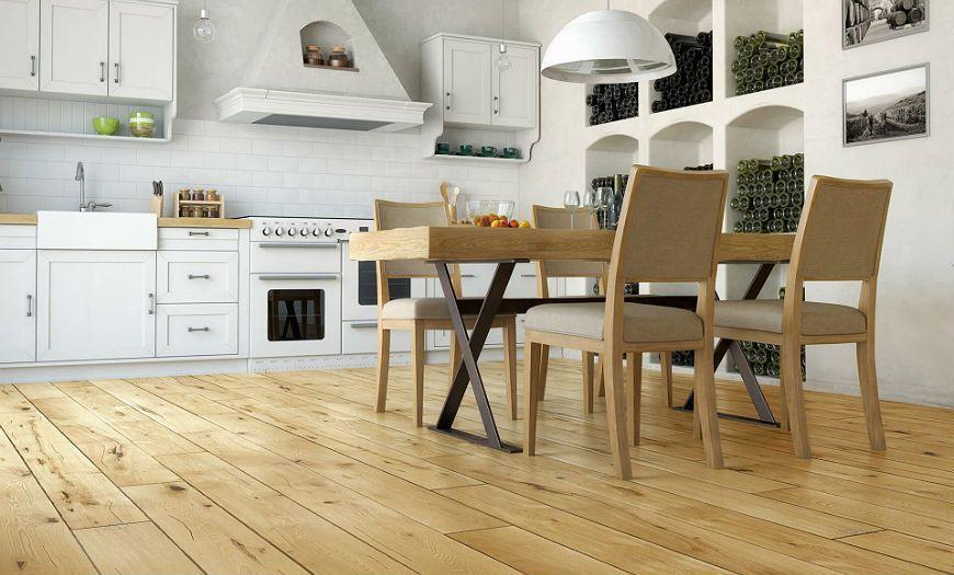 Кухня в стиле прованс полы
