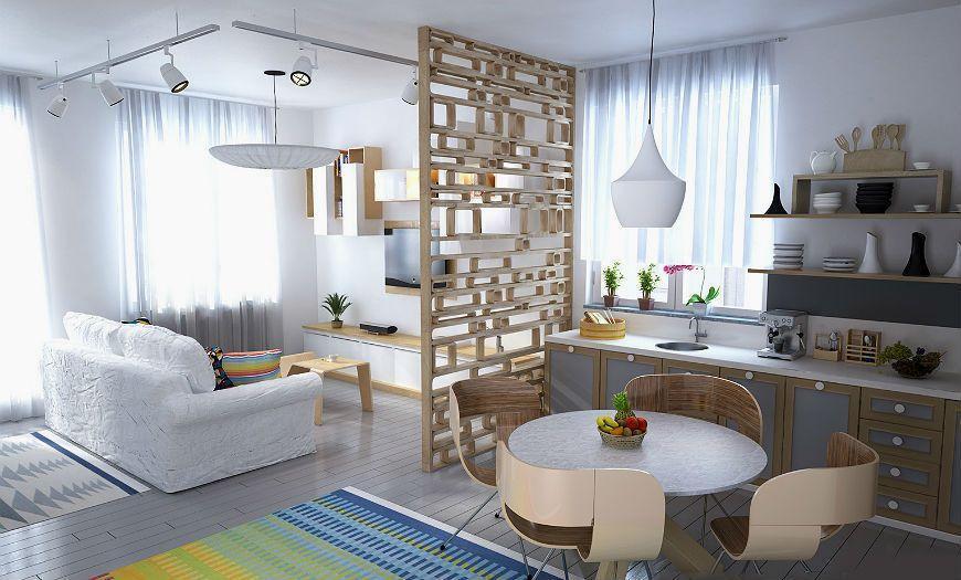 Квартира-студия пример декора 2
