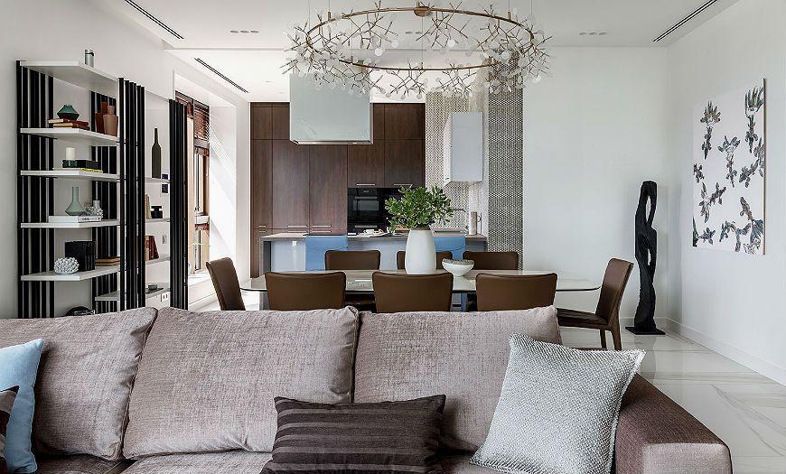 Квартира-студия пример декора 3