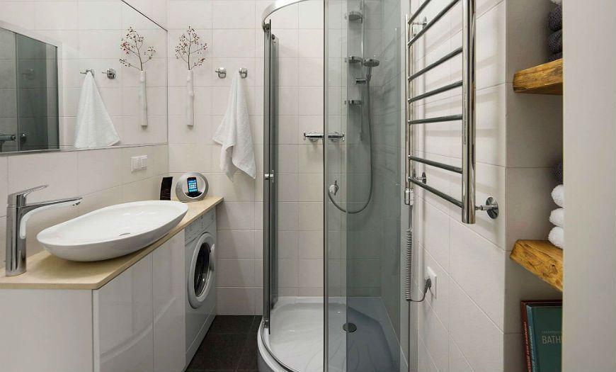 Квартира-студия ванная