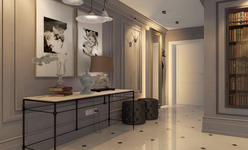 дизайн в прихожей в квартире
