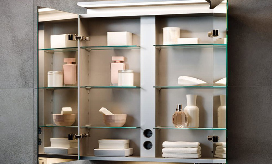 Навесные шкафы в дизайне.