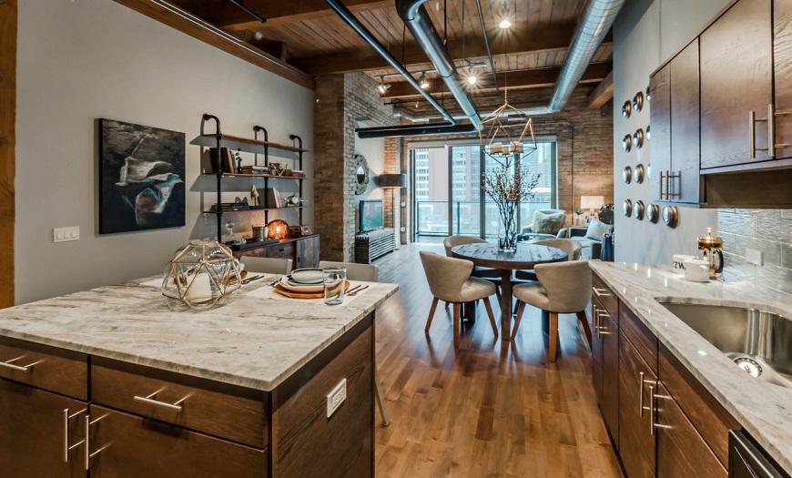 Кухня в стиле Лофт: 120+фото лучших идей дизайна