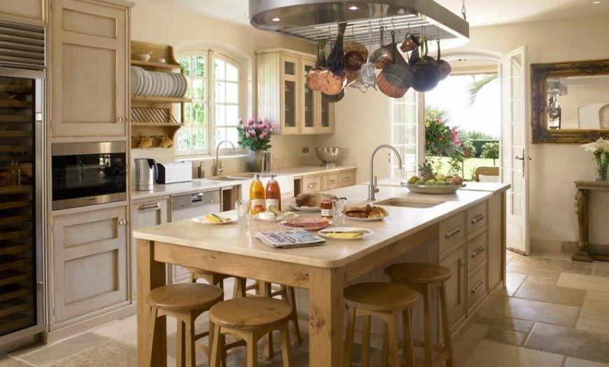 Кухня в стиле прованс: 150+ лучших фото интерьера