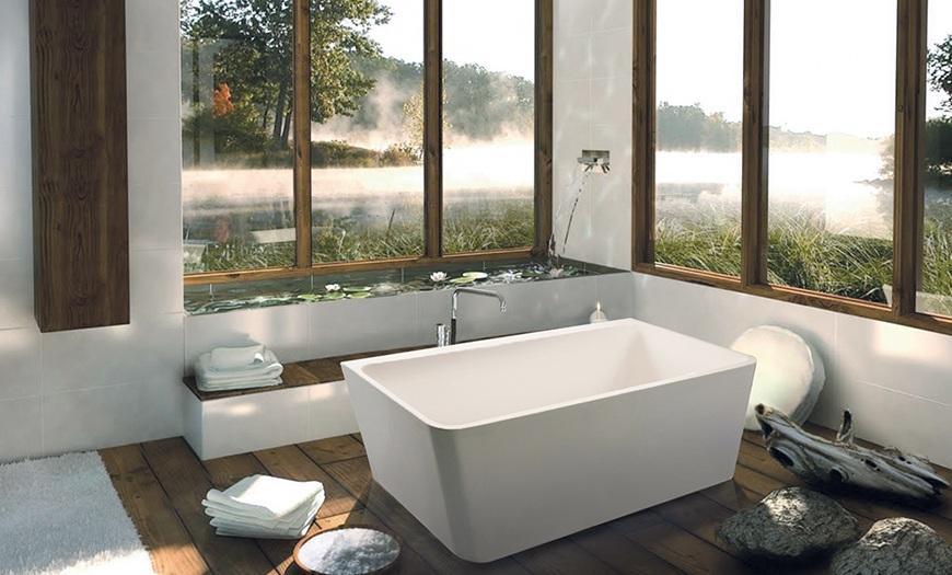 Практичная ванна.