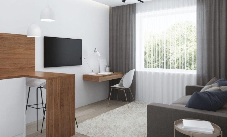 Гостиная в квартире-студии