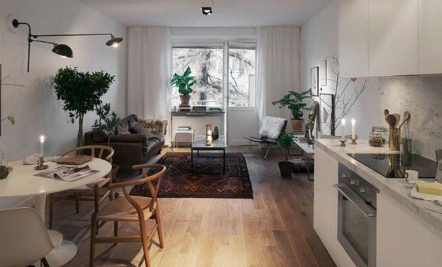 Скандинавская Квартира-студия