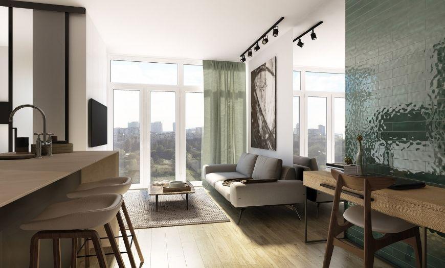 Квартира-студия пример декора 6