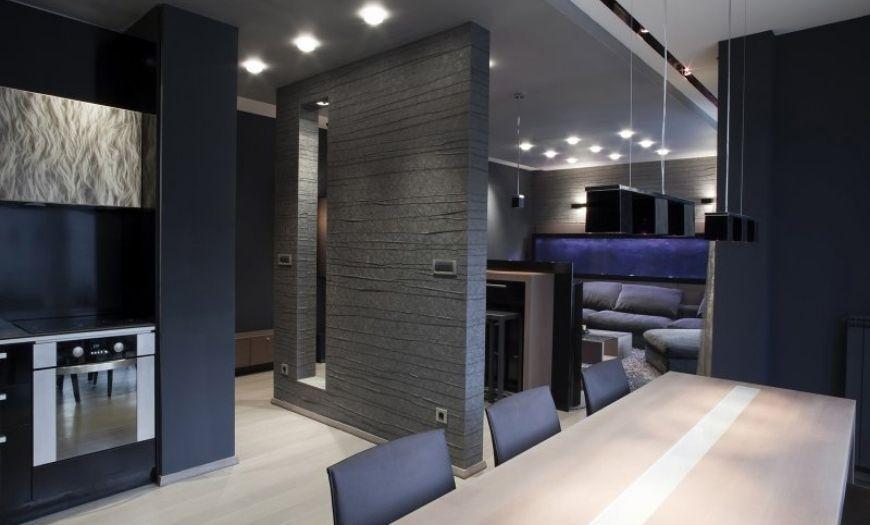 Квартира-студия в стиле хай-тек