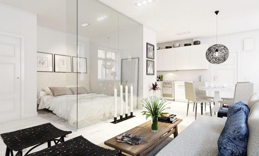 Квартира-студия сканди