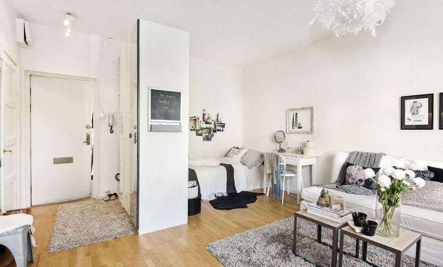 Квартира-студия пример декора 5