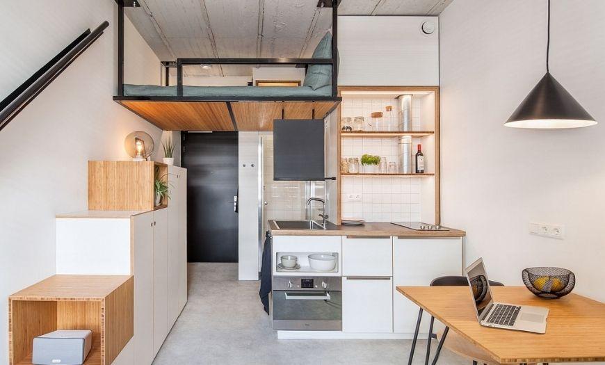 Квартира-студия интерьер
