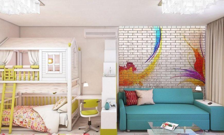 Детская зона в квартире-студии