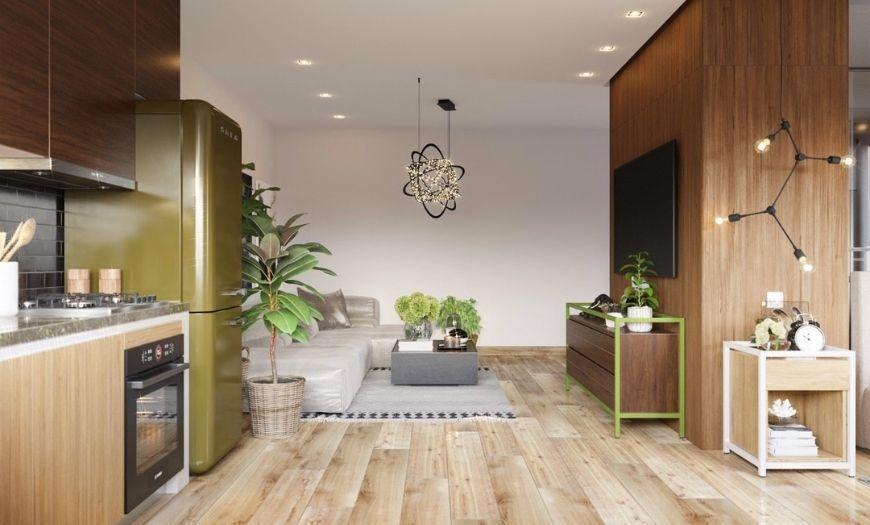 Квартира-студия пример декора 4