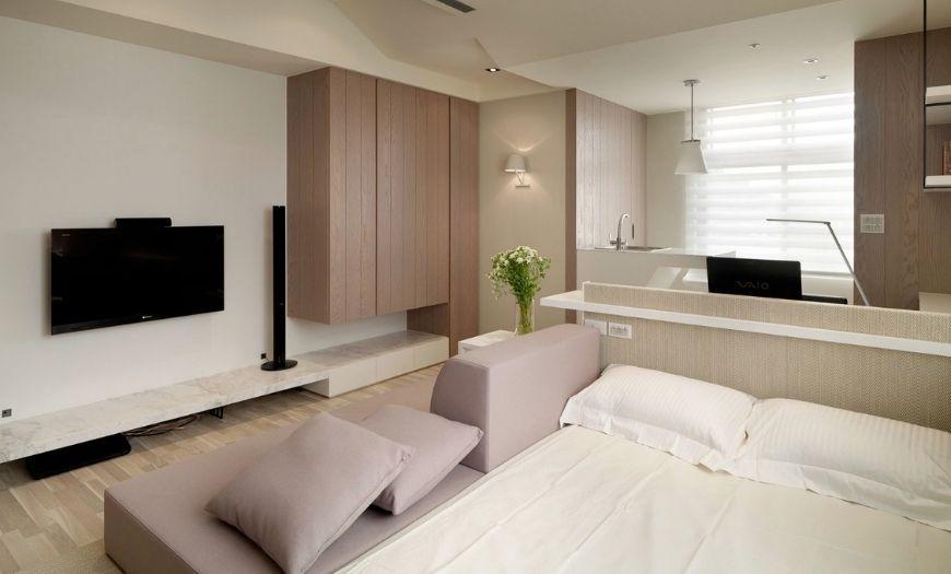 Квартира-студия мебель