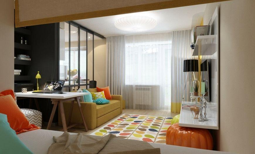Квартира-студия правильное зонирование