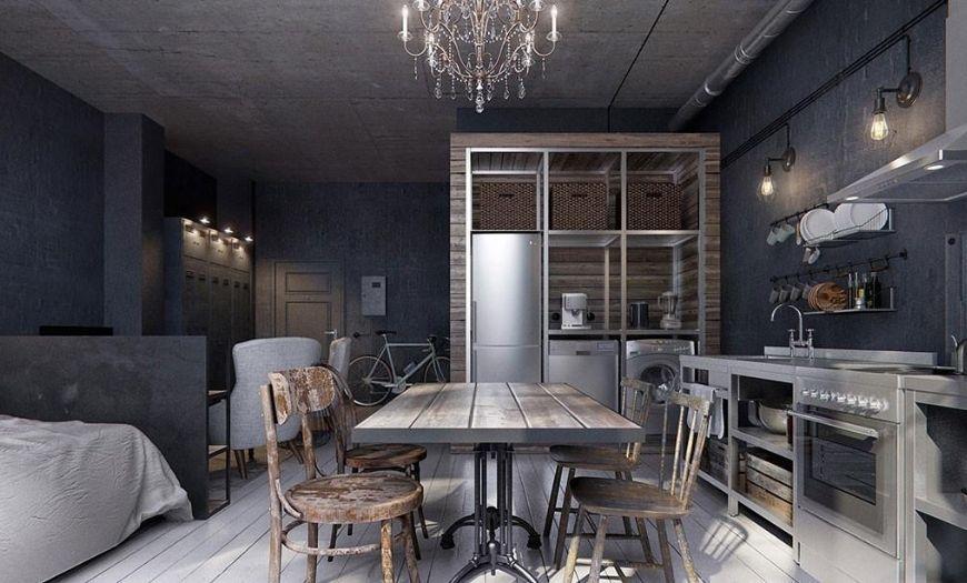 Выбор оттенков для оформления квартиры-студии