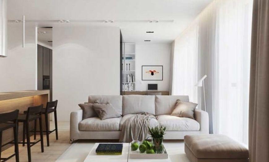 Квартира-студия модерн
