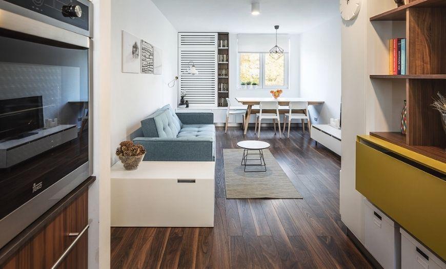 Квартира-студия свет