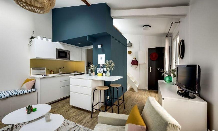 Модные стилевые решения квартиры-студии
