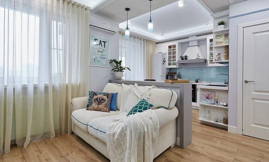 Квартира-студия прованс