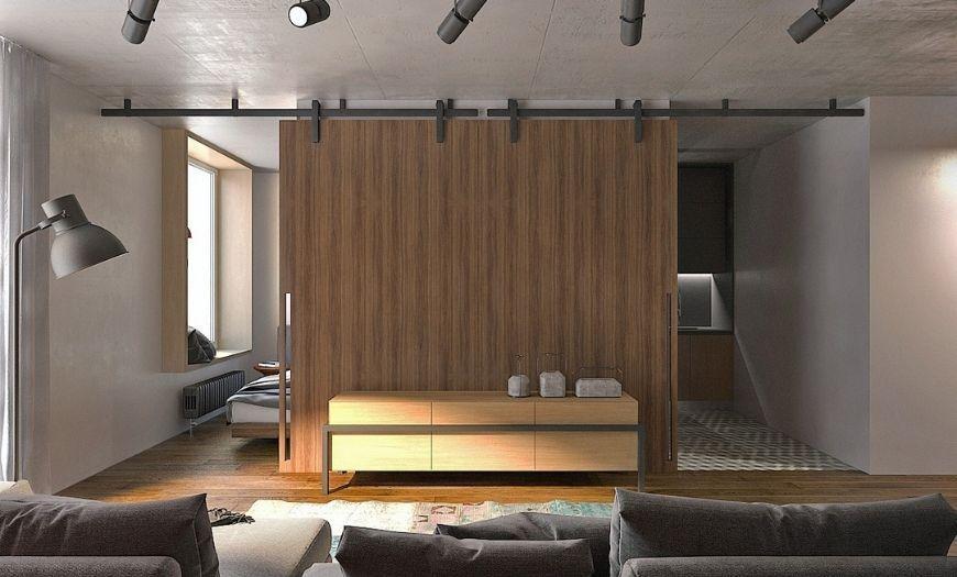 Квартира-студия хай-тек