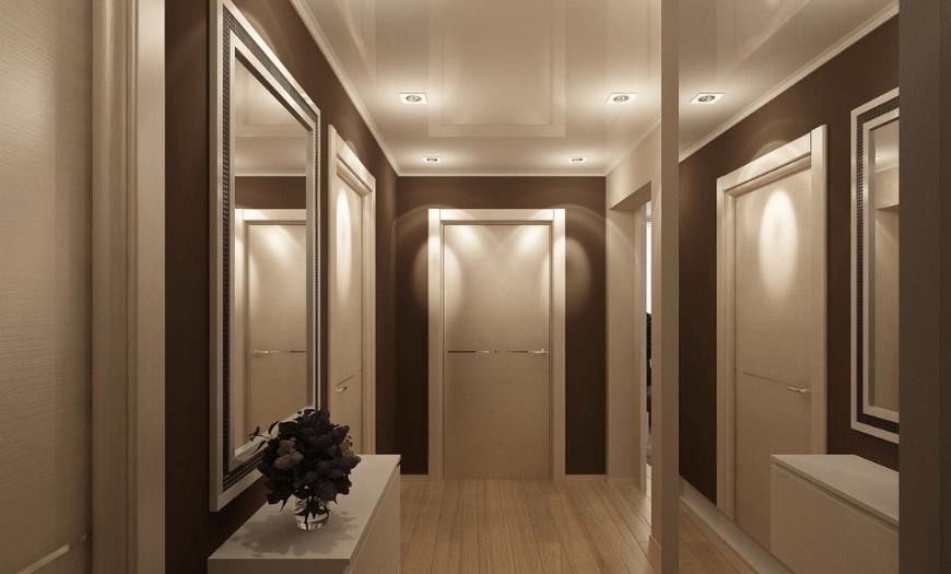 Дизайн коридора в квартире: 150+ реальных фото в современном стиле 2021 года