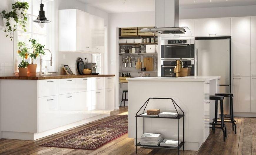 Кухня выполнена в классическом стиле