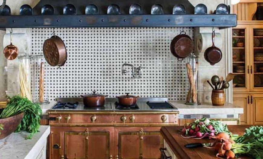 Кухня в французском этностиле.