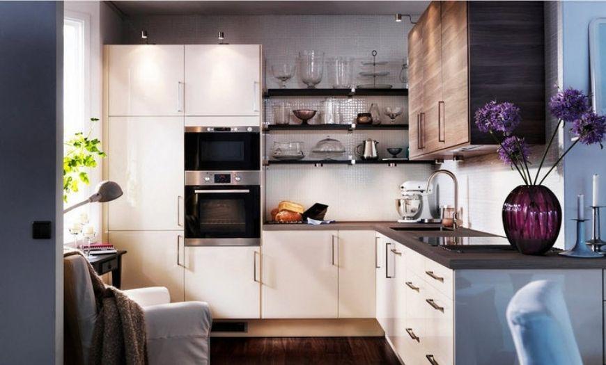 Интересная идея для оформления кухни.