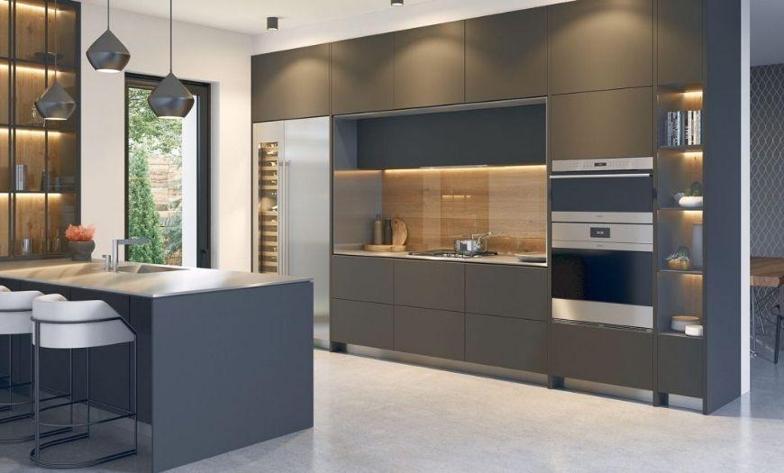 Кухня в стиле модерн.