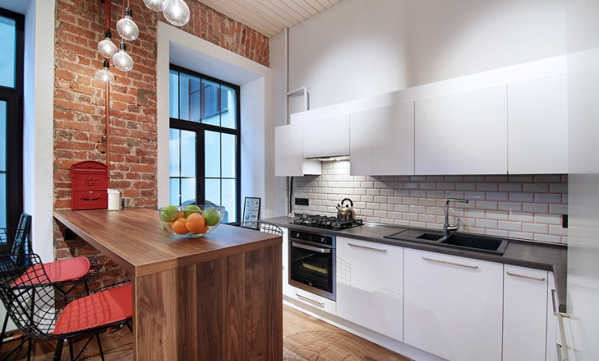 посмотреть дизайн кухни 9 квадратных метров