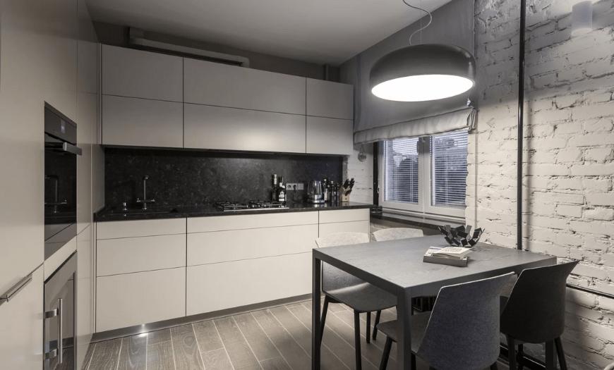 дизайн кухни площадью 9 кв м