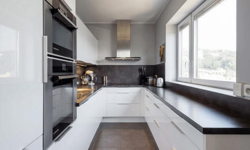 кухня 9 кв метров дизайн проект