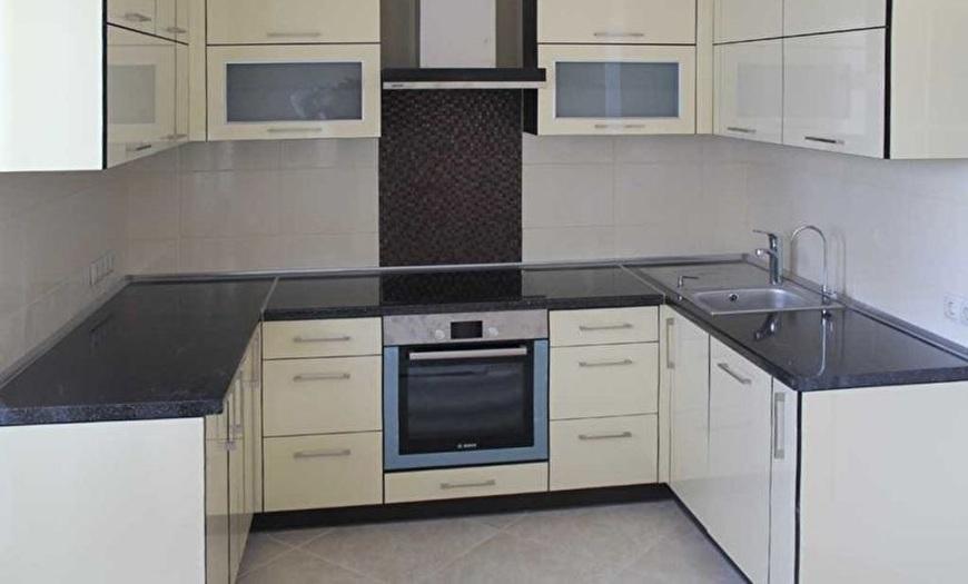 П-образная кухня 9м кв