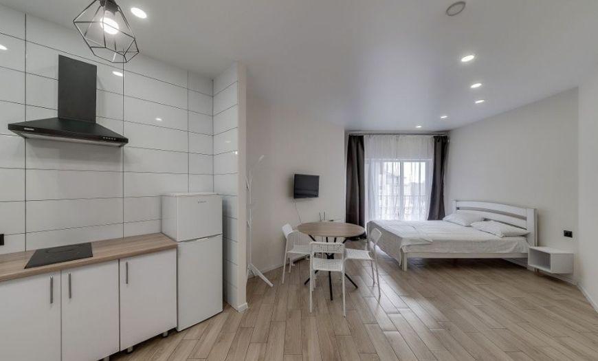 Квартира-студия ламинат