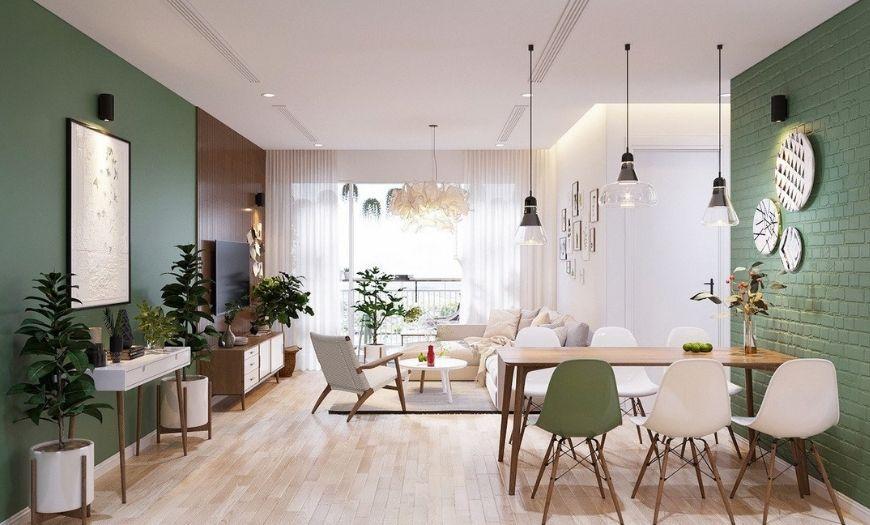 Квартира-студия стены