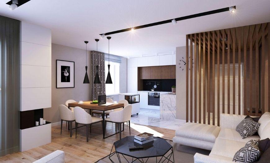 Квартира-студия натяжной потолок